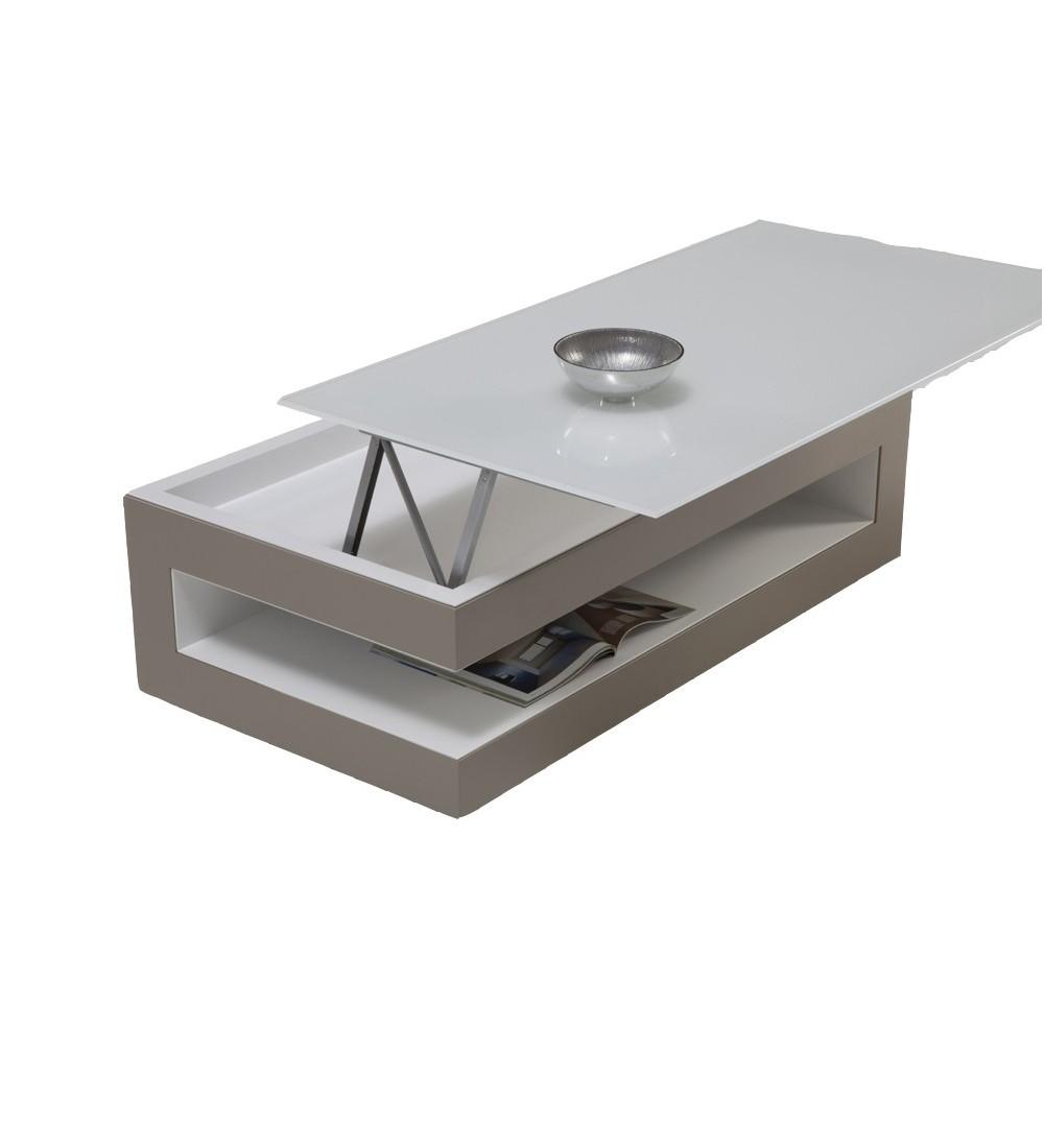 Table basse dinette en bois en laque en c ramique ref 256 - Table salon dessus ceramique ...