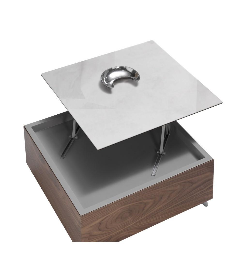 Table Basse Carree Dinette 90x90 En Bois En Laque En Ceramique Ref 259