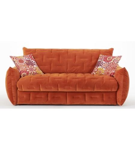 Modèle présenté en Velours Orange