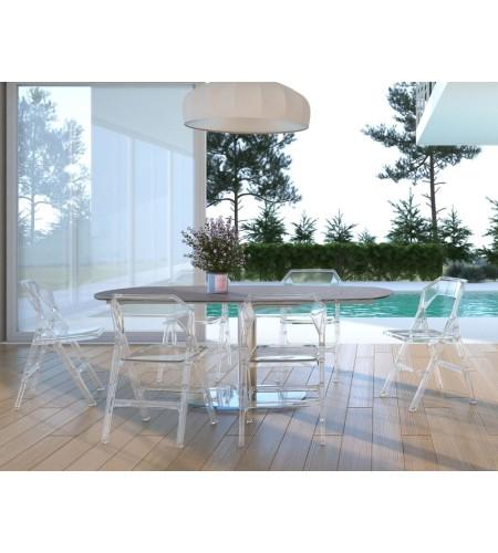 pliante Fold Chaise pliante Fold Chaise Chaise Transparente Transparente E2eIYHD9W