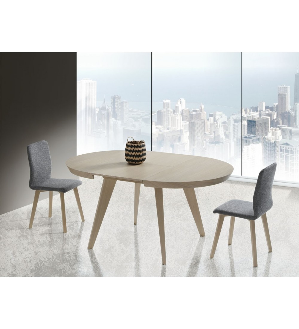 Table Ronde Extensible Ceramique Ou Bois