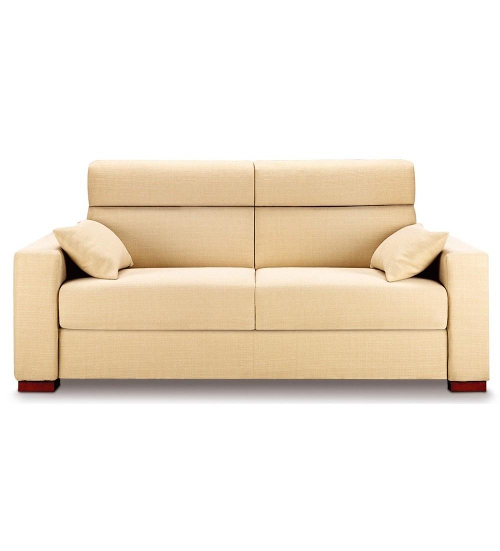 Canape lit tous couchages quotidien avec haut dossier for Canape avec dossier haut