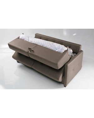 canap convertible petite largeur pescara 120 140 160 cm matelas 18 cm. Black Bedroom Furniture Sets. Home Design Ideas