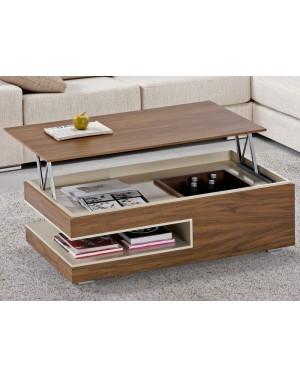 Table Basse Dinette Bar rectangulaire en bois, en laque, en céramique ref 144