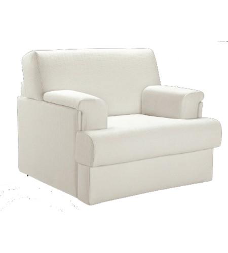 fauteuils convertibles en lit couchage quotidien en tissu. Black Bedroom Furniture Sets. Home Design Ideas