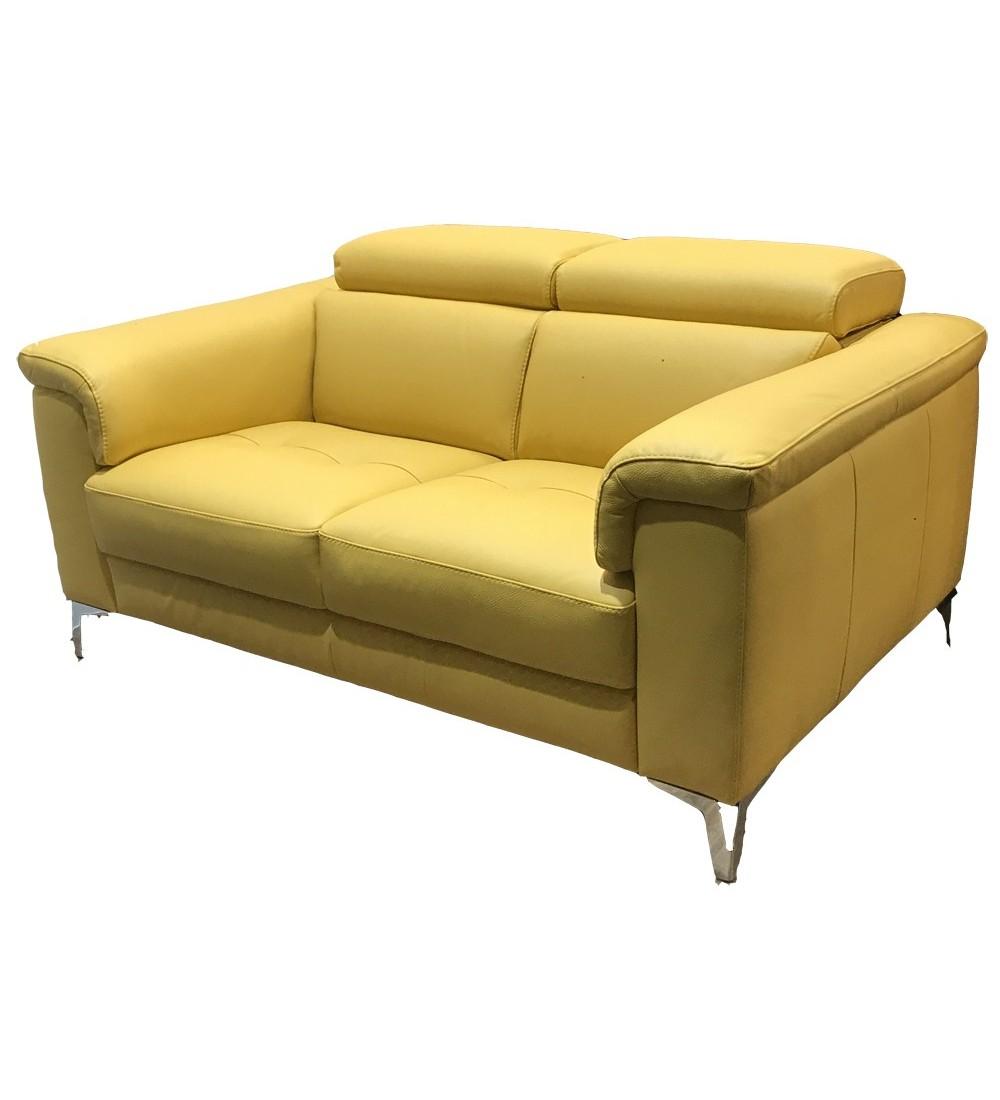 Canap cuir et tissu haut de gamme enti rement composable jazz - Canape haut de gamme tissu ...