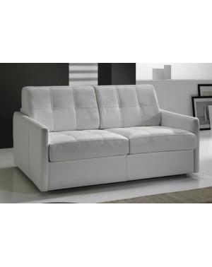 petit canap lit tissu couchage quotidien en promo cubik. Black Bedroom Furniture Sets. Home Design Ideas