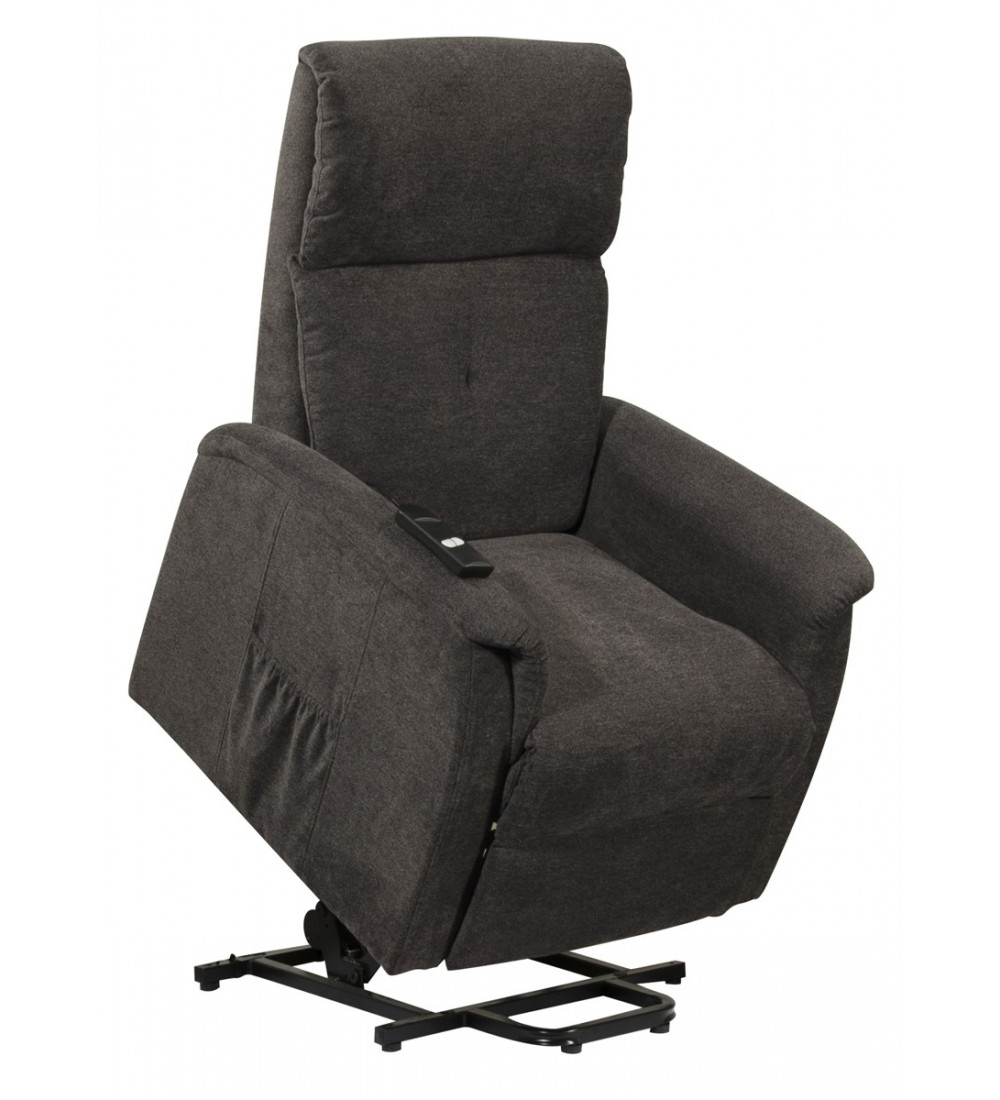 fauteuil releveur relax microfibre chin spacial. Black Bedroom Furniture Sets. Home Design Ideas